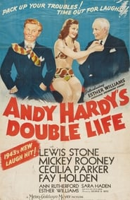 Andy Hardy's Double Life affisch