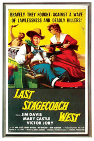 The Last Stagecoach West affisch