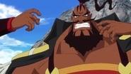 Z's Ambition! Luffy vs. Shuzo!