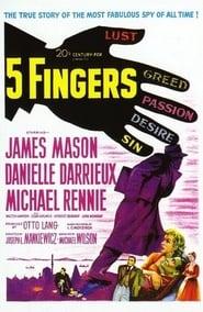5 Fingers affisch