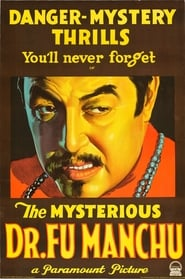 The Mysterious Dr. Fu Manchu affisch