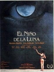 El niño de la luna Film Plakat