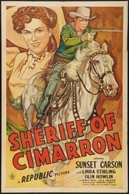 Affiche de Film Sheriff of Cimarron