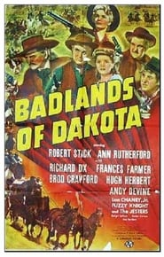 Badlands Of Dakota affisch