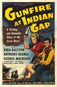 Gunfire at Indian Gap poster