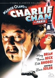 Charlie Chan in Paris Film Plakat