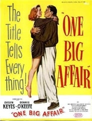 One Big Affair Juliste