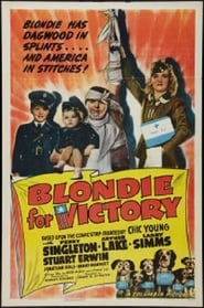 Blondie for Victory affisch