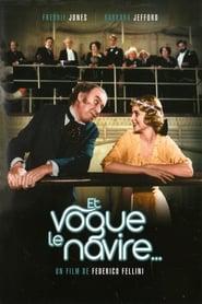 Et vogue le navire (1983) Netflix HD 1080p