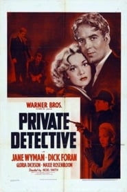 Private Detective Juliste
