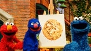 Painting with Cookie Monster