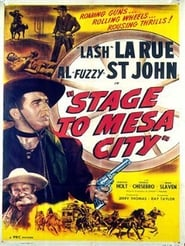 Stage to Mesa City affisch