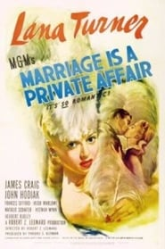 Marriage Is a Private Affair Ver Descargar Películas en Streaming Gratis en Español
