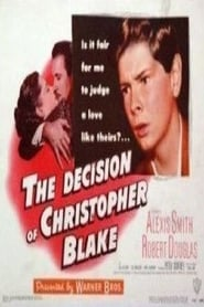 Imagen The Decision Of Christopher Blake