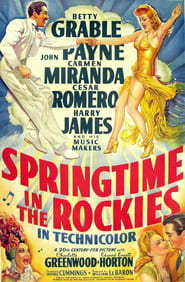 Springtime in the Rockies Film Plakat