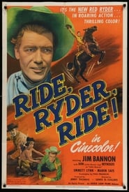 Ride, Ryder, Ride! Juliste
