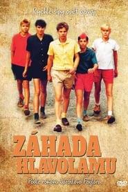 Affiche de Film Záhada hlavolamu