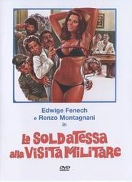La soldatessa alla visita militare affisch