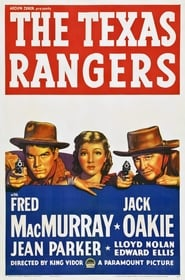 The Texas Rangers Film Plakat