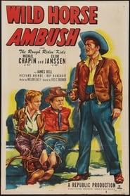 Plakat Wild Horse Ambush