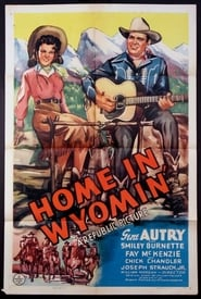 Home in Wyomin' Film Plakat