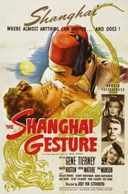 The Shanghai Gesture Juliste