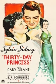 Thirty Day Princess Film Plakat