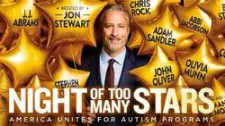 Nuevo trailer online Pelicula Night of Too Many Stars: America Unites for Autism Programs