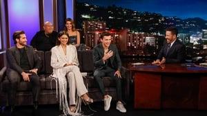 Tom Holland, Jake Gyllenhaal, Zendaya, Cobie Smulders, and Jacob Batalon; Musical Guest Vampire Weekend
