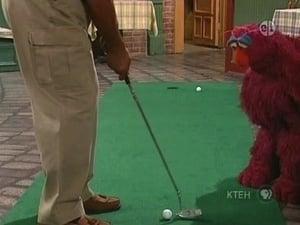 Sesame Street Season 38 :Episode 16  Telly Helps Gordon Play Golf