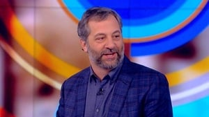 Judd Apatow and Bill de Blasio
