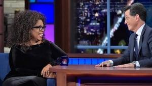 The Late Show with Stephen Colbert Season 1 :Episode 28  Oprah Winfrey, Joseph Fink, Jeffrey Cranor, Judith Hill