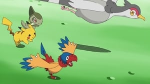 Pokémon Season 14 :Episode 36  Archeops in the Modern World!