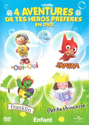 4 AVENTURES DE TES HEROS PREFERES EN DVD
