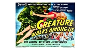 The Creature Walks Among Us (1956) Poster