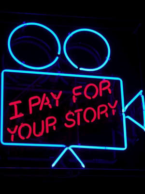 I Pay for Your Story