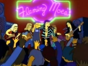 The Simpsons Season 3 : Flaming Moe's