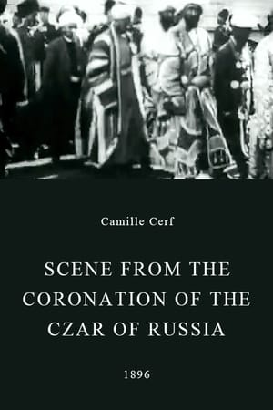 Scene from the Coronation of the Czar of Russia