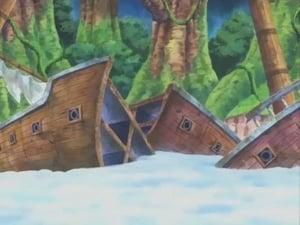 ¡Lanzarse por el precipicio! ¡Los sentimientos de Luffy!