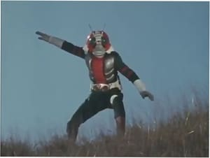 Kamen Rider Season 2 :Episode 1  Rider No. 3: His Name is V3!