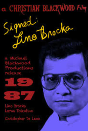 Signed: Lino Brocka