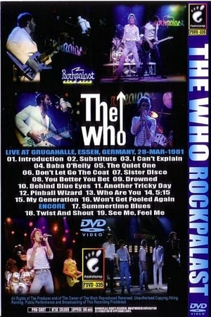 The Who Rockpalast 1981