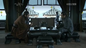 Cao Cao discusses about heroes over drinks