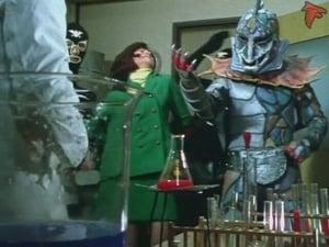 Kamen Rider Season 1 :Episode 58  Monster Poison Lizard, Duel in Fear Valley!!