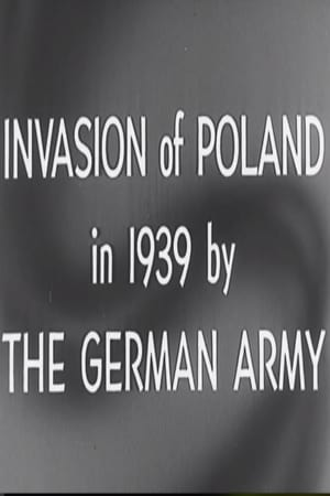 Invasion Of Poland By The German Army