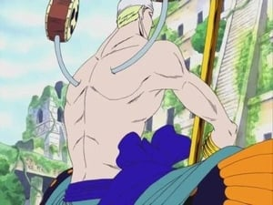 Battle in the Ancient Ruins! God Enel's Desire!!