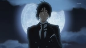 His Butler, at the Funeral