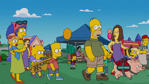The Simpsons Season 28 :Episode 11  Pork and Burns