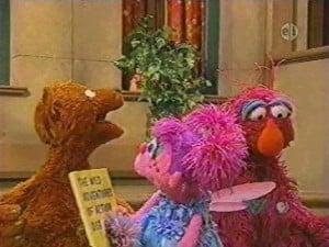 Sesame Street Season 38 :Episode 3  Word 'Dog' Escapes Abby's Book