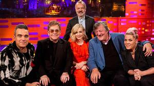 Sir Elton John, Stephen Fry, Carey Mulligan, Robbie Williams, Pink